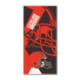 "Cleveland Browns ""Puzzle"" Oversized Beach Towel"