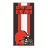 "Cleveland Browns ""Zone Read"" Beach Towel"