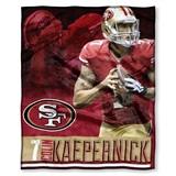 "Colin Kaepernick - San Francisco 49ers NFL ""Players"" Woven Tapestry Th"