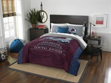 "Colorado Avalanche NHL ""Draft"" Full/Queen Comforter Set"