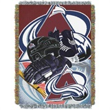 "Colorado Avalanche NHL ""Home Ice Advantage"" Woven Tapestry Throw"