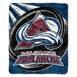 "Colorado Avalanche NHL ""Puck"" Sherpa Throw"