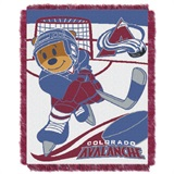 "Colorado Avalanche NHL ""Score Baby"" Baby Woven Jacquard Throw"