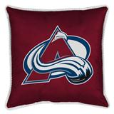 Colorado Avalanche Sidelines Decorative Pillow