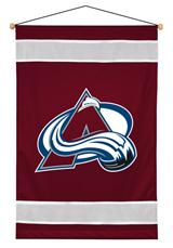Colorado Avalanche Sidelines Wallhanging
