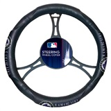 Colorado Rockies MLB Car Steering Wheel Cover