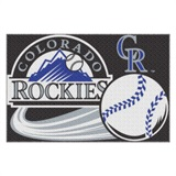 Colorado Rockies MLB Tufted Rug