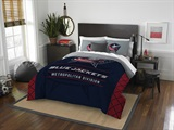 "Columbus Blue Jackets NHL ""Draft"" Full/Queen Comforter Set"