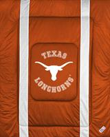 University of Texas Sidelines Queen Comforter