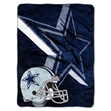"Dallas Cowboys ""Bevel"" Micro Raschel Throw"