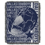 "Dallas Cowboys ""Double Play"" Woven Jacquard Throw"