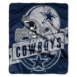 "Dallas Cowboys ""Grand Stand"" Raschel Throw"
