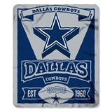 "Dallas Cowboys ""Marquee"" Fleece Throw"