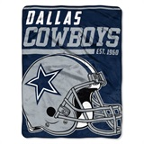 "Dallas Cowboys NFL ""40 yard Dash"" Micro Raschel Throw"