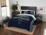"Dallas Cowboys NFL ""Draft"" Full/Queen Comforter Set"