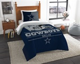 "Dallas Cowboys NFL ""Draft"" Twin Comforter Set"