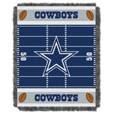 "Dallas Cowboys NFL ""Field"" Baby Woven Jacquard Throw"