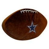 Dallas Cowboys NFL  Football Shaped 3D Plush Pillow