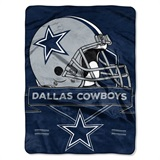 "Dallas Cowboys NFL ""Prestige"" Raschel Throw"