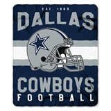 "Dallas Cowboys NFL ""Singular"" Fleece Throw"