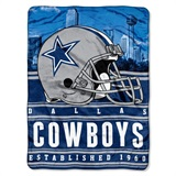 "Dallas Cowboys NFL ""Stacked"" Silk Touch Throw"