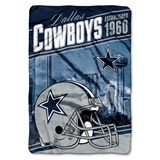 "Dallas Cowboys NFL ""Stagger"" Micro Raschel Throw"