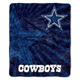 "Dallas Cowboys NFL ""Strobe"" Sherpa Throw"