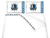 Dallas Mavericks Micro Fiber Sheet Set King