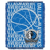 "Dallas Mavericks NBA ""Double Play"" Woven Jacquard Throw"