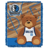 "Dallas Mavericks NBA ""Half-Court"" Baby Woven Jacquard Throw"