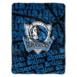 "Dallas Mavericks NBA ""Redux"" Micro Raschel Throw"