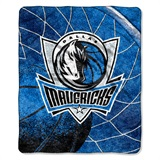 "Dallas Mavericks NBA ""Reflect"" Sherpa Throw"