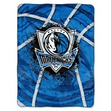 "Dallas Mavericks NBA ""Shadow Play"" Raschel Throw"