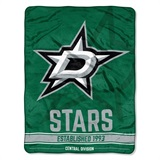 "Dallas Stars NHL ""Breakaway"" Micro Raschel Throw"