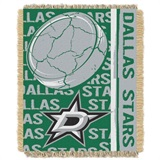 "Dallas Stars NHL ""Double Play"" Woven Jacquard Throw"