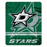 "Dallas Stars NHL ""Fadeaway"" Fleece Throw"
