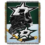 "Dallas Stars NHL ""Home Ice Advantage"" Woven Tapestry Throw"