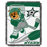 "Dallas Stars NHL ""Score Baby"" Baby Woven Jacquard Throw"