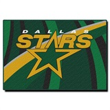 "Dallas Stars NHL ""Streak"" Rug"