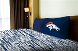 "Denver Broncos NFL ""Anthem"" Twin Sheet Set"