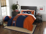 Denver Broncos Full Comforter & Sham Set