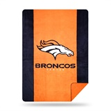 "Denver Broncos NFL ""Denali"" Sliver Knit Throw"