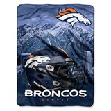 "Denver Broncos NFL ""Stacked"" Silk Touch Throw"