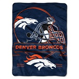 "Denver Broncos NFL ""Prestige"" Raschel Throw"