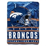 "Denver Broncos NFL ""Jersey"" Raschel Throw"
