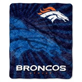 "Denver Broncos NFL ""Strobe"" Sherpa Throw"