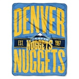 "Denver Nuggets NBA ""Clear Out"" Micro Raschel Throw"