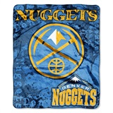 "Denver Nuggets NBA ""Dropdown"" Raschel Throw"