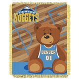 "Denver Nuggets NBA ""Half-Court"" Baby Woven Jacquard Throw"