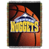 "Denver Nuggets NBA ""Photo Real"" Woven Tapestry Throw"